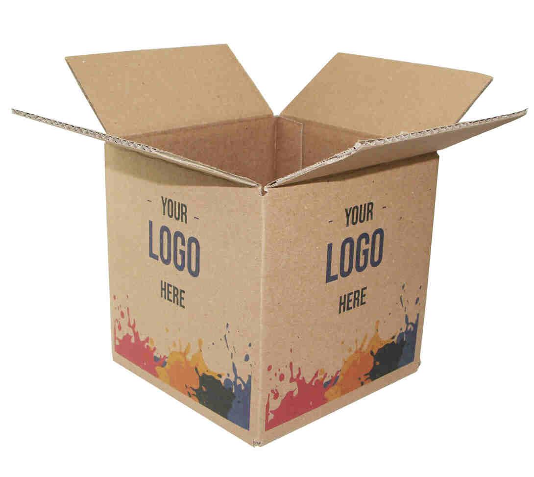 CUSTOM PRINTED KRAFT SHIPPING BOXES
